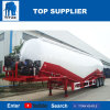Titan el vehículo de cemento a granel Bulker Transporter tanque cisterna semi remolque con 40 ton.