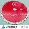 Discos del corte del diamante de *25mm del Gp 18 , láminas del diamante para el granito, cuarcita