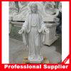 Sculpture de marbre de découpage en pierre découpée par main en statue de marbre de Jésus
