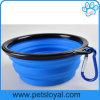 Vente en gros de silicone en caoutchouc pour animaux de compagnie Dog Cat Bowl