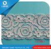 Polyester 100% gestickte Trikot-Spitze