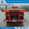 Jost Landing Gear Sale를 위한 3 Fuhua/BPW Axle ABS Braking Carbon Steel Flatbed Semi Truck Trailer