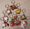 3D PVC all'ingrosso Keychain per Christmas Ornament