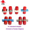 FC de duplex Simplex Optische Adapter van de Vezel van het Plastiek of van het Metaal