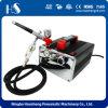 Комплект компрессора Airbrush профессионального Airbrush HS-216K миниый