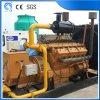 木によって燃料を供給される発電機