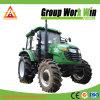 140HP tracteur agricole 4RM avec chargeur frontal et la rétropelle