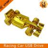 Annonçant le drive USB en métal de véhicule d'emballage de l'or F1 de cadeaux (YT-1229)