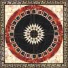 꽃 Pattern Carpet Tile Polished Crystal Ceramic Floor Tile 1200X1200mm (BMP17)