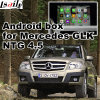 Interfaccia Android del sistema di percorso di GPS video per Mercedes-Benz Glk Ntg 4.5