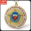 Medalla de encargo del balompié del metal del precio de fábrica de la calidad superior