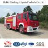 euro de lutte contre l'incendie 4 de véhicule de mousse de 16ton HOWO