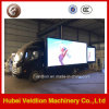LED 트럭을 광고하는 Foton 4X2