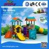 Апреля 20%со скидкой дешевые используется коммерческих детская игровая площадка, открытый животных пластиковые игровая площадка слайд для продажи