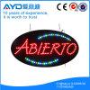 Muestra electrónica oval de Hidly España LED