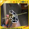 Profil en aluminium de bâti de miroir avec de l'or de Cp et la couleur argentée de Cp
