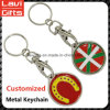 Fabrik-Preis-kundenspezifisches Metall Keychain mit Firmenzeichen