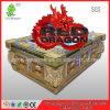 Macchina rossa del gioco della galleria della fucilazione del gioco del drago del gioco dei pesci di colpo della tigre
