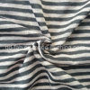 Lino hilado Jersey ropa teñida (QF13-0283)