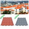 스페인어 1040mm Width Composite Resin Roof Tile