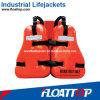 Chaleco del trabajo de la plataforma petrolera y chaleco salvavidas (FT8003)
