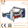 El papel de cartón máquina rebobinadora y cortadora longitudinal (JT-SLT-800/2800C)
