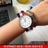 L'oro di Daimond Rosa delle vigilanze di modo Yxl-217 ha placcato le vigilanze popolari Relogio Masculino di sport del quarzo della cinghia del Mens degli uomini di nylon degli orologi