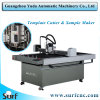 Cortadora de acrílico del modelo del PVC del modelo del CNC del cortador plano automático de la muestra