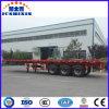 공장 해상운송 30t 3 차축 콘테이너 트레일러