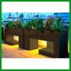 Zurückführbarer insektensicherer Straßen-/Garten-/des Park-DIY angehobener WPC Pflanzenhalter