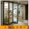 Алюминиевая/Double-Glazed стеклянная Bi-Складывая дверь (шикарный серебр)
