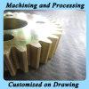 CNC que procesa el recambio de la maquinaria con alta técnica de la vinculación