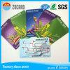 Cartão personalizado do transporte de RFID M1 Fudan