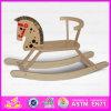 2015 excelente calidad a los niños juguete de madera caballito de madera, los niños viajen en animales de juguete divertido juguete de peluche Caballito Wj278584