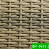 Cane Furniture (BM9665-1)의 전천후 Hand Woven Half Moon Resin Rattan