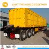 reboque lateral para a venda, Semitrailer lateral da descarga dos Tri-Eixos 60t do descarregador do caminhão