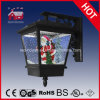 Nevando Lámpara de pared LED de luz de la Navidad la decoración del hogar