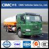Carro del tanque de petróleo de Sinotruk HOWO 8X4 25cbm