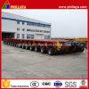 16 righe 32 assi oscillanti idraulici 400 tonnellate di rimorchio modulare