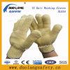 Перчатки перчаток безопасности руки T/C дешевым связанные хлопком работая