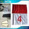 Mini drapeau fait sur commande de golf de trou de golf pour le vert de mise (M-NF33F01003)