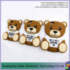 caso de Moschino del oso 3D para el iPhone