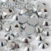 5mm 유리제 수정같은 모조 다이아몬드 편평한 뒤 느슨한 모조 다이아몬드 결정 (FB ss20 은)