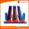 中国の弾力がある城の警備員(T4-221)を跳ぶ膨脹可能なおもちゃのスライド
