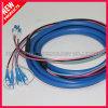 Fibre optique à l'extérieur blindé LC au câble SC