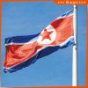 Изготовленный на заказ сделайте водостотьким и национальный флаг Северной Кореи национального флага Sunproof