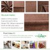 Tela aplicada con brocha terciopelo suave estupendo del Knit para la materia textil casera