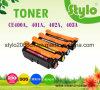 Marcação ce400A/401A/402A/403um cartucho de toner de cor para M375nw/M451dw/M475dn/M451nw/M451dn Printer