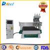 Proceso automático de tres 1325 Máquina de grabado CNC Router de madera para muebles