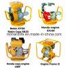 프레임과 연결을%s 가진 유사한 Robin 가솔린 엔진 5HP